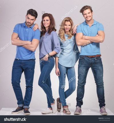 stock-photo-casual-men-standing-with-hands-crossed-and-women-lean-on-them-on-grey-studio-background-215678686