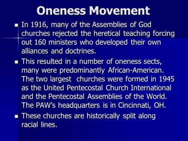 Oneness+Movement